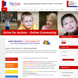 Strive For Autism Hunter Valley