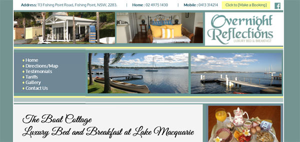 Overnight Reflections BNB Lake Macquarie
