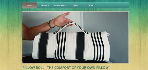 Pillowroll - Traveller's Pillow - Roll-up pillow