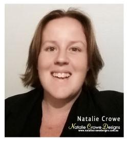 Owner Natalie Crowe, Natalie Crowe Designs
