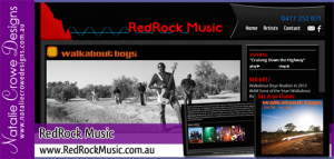 w-redrock-music-website