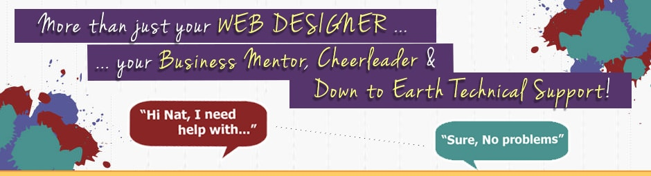 Down to earth business support - Website Design Hunter Valley - Cessnock Web Designer- Natalie Crowe Designs