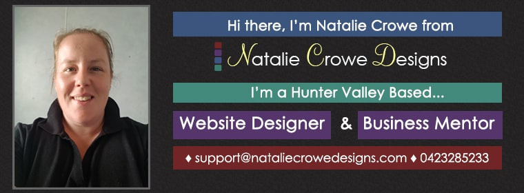 Website Design Hunter Valley | Natalie Crowe Designs