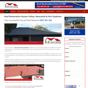 a-zroofcoating-roof-restoration-hunter-valley-port-stephens