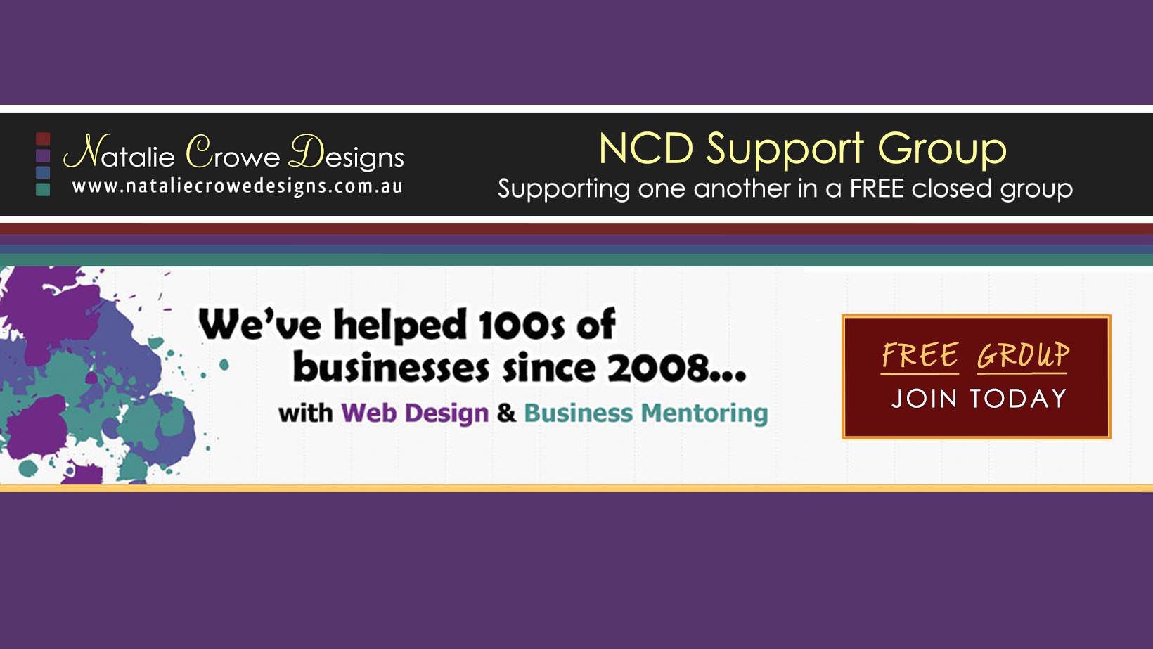 Natalie Crowe Designs Business Support Group
