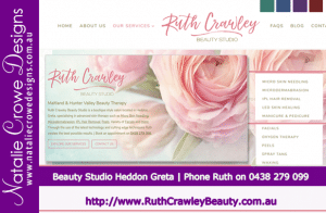 Ruth Crawley Beauty - Hunter Valley & Maitland | Beauty Therapy