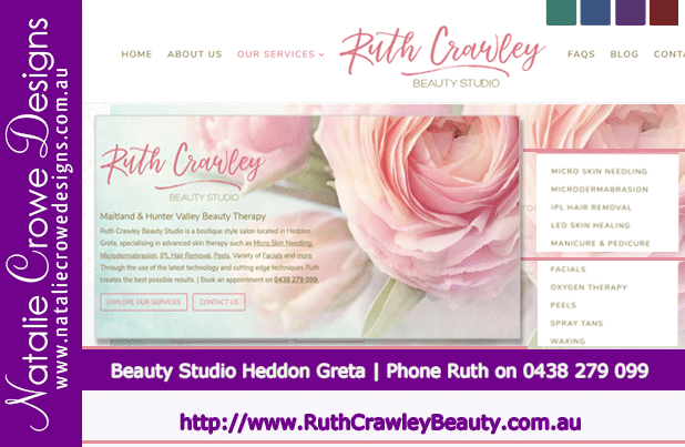 Ruth Crawley Beauty Therapist  Heddon Greta | Hunter Valley & Maitland