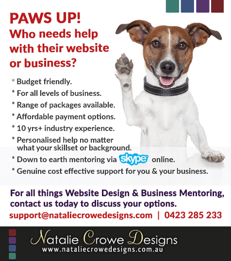 Web Design & Business Mentoring Hunter Valley