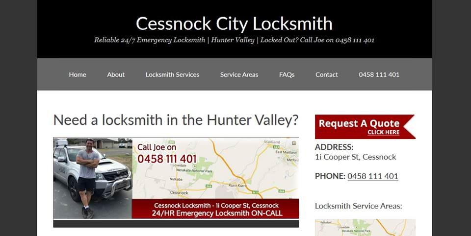 cessnock-locksmith-hunter-valley