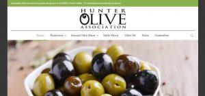 Hunter Olives Association Pokolbin - Cessnock Web Design Business - Web Design Cessnock