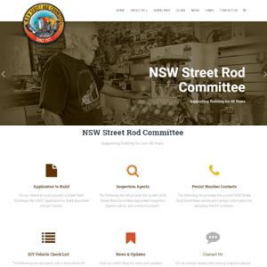 NSW Street Rod Committee | Cessnock Web Design
