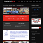 Toranafest 2019 - Website Designed by Natalie Crowe Designs | Web Design Maitland