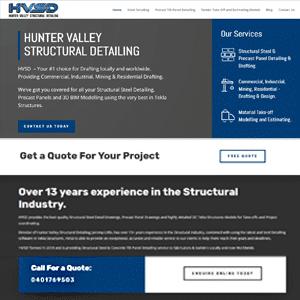 Hunter Valley Structural Detailing | Steel Detailing Newcastle | Web Design Cessnock