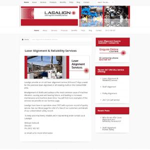 Lasalign - Laser Alignment Pulleys | Newcastle & Hunter Valley | Web Design Cessnock
