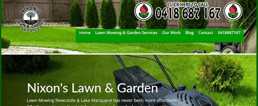 Lawn Mowing Newcastle | Nixon's Lawn & Garden Service | 0418687167