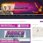 East Maitland Dance Headquarters - Web Design Maitland