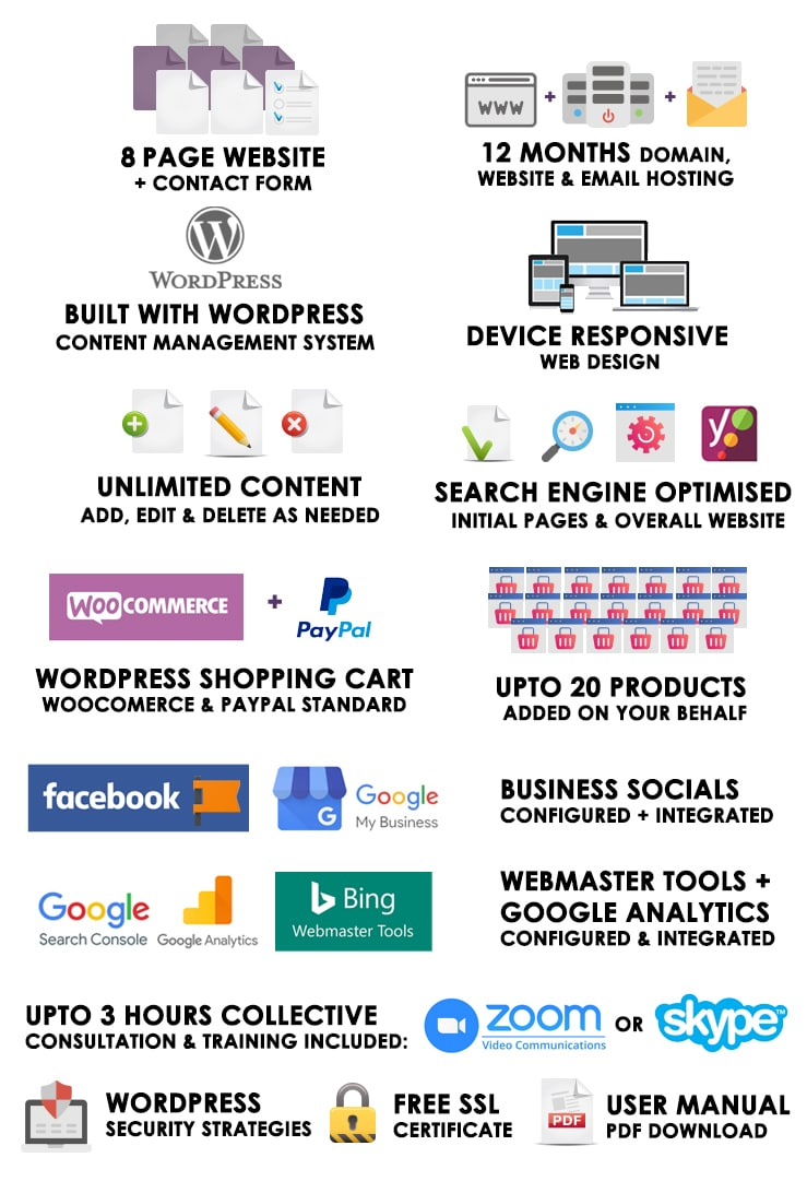 Foundations WordPress Websites | WordPress Website Packages Australia