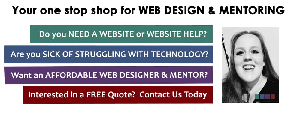Web Designer Australia - Natalie Crowe Designs - WordPress Website Specialist