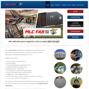 MLC Fabrications | Concreting Branxton, Concreting Hunter Valley